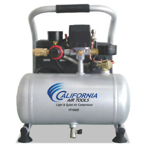 California Air Tools 6 Hp 1 Gallon Light And Quiet Portable Air Compressor New