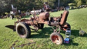Ac Allis Chalmers B Tractor With Plow