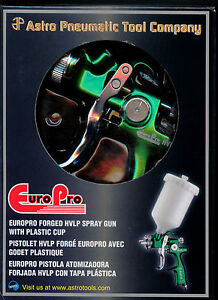 Spray Gun Hvlp Europro Forged Compatible With Solvent waterbone Paint 1 3mm Nozz