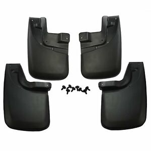 Front Rear Molded Mud Flaps Mud Guards Splash Fit 05 15 Toyota Tacoma 4x4 4x2
