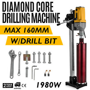 Diamond Drill Concrete Core Machine Diamond Sampling Boring Punch 110v 6inch