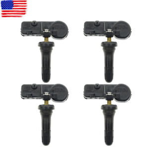 4 Pcs Tpms Tire Pressure Monitoring Sensor System For Cadillacescalade Chevrolet