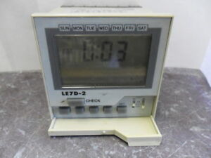 Nice Tenor Controls Le7d 2 Digital Time Switch
