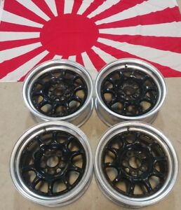 15 Sprint Hart Wheels 15x7 5x100 Et35 Very Rare Jdm Wheels
