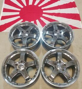 17 Weds Wheels 17x7 5x114 3 Et53 Very Rare Jdm Wheels