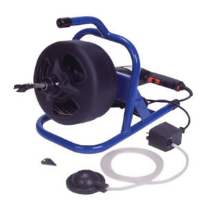 Cobra 50 ft Wire Drain Cleaning Machine Plumbing Clog Opener Auger 90021 New
