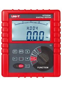2 3 4 Pole Earth Resistance Voltage Soil Resistivity Tester Meter Rs232 Ut523a