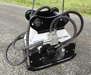 stanley Hs11000 hs Hydraulic Vibratory Plate Compactor hoe Pac 2