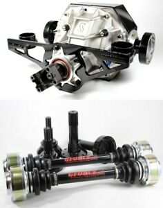 Toyota Supra lexus Sc300 92 00 Complete Gforce 9 Rear End Irs Axle Built 1000hp