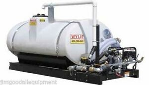 500 Gallon Water Skid wylie Exp500 Express 2 pump suction Fire Hose spray Bar