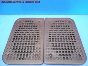 Oem Porsche 944 951 Turbo N a S2 924s Door Speaker Grille Cover Trim Brown