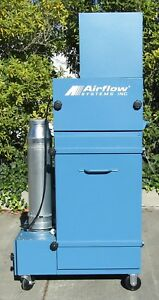 Airflow Systems 1 5hp Dust Collector Fume Extractor With Cartridges