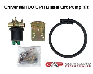 Universal High Volume Diesel Lift Pump Kit Or Auxiliary Lift Pump Kit 100gph