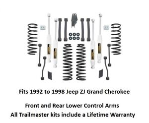 Jeep Grand Cherokee 3 5 Inch Lift Kit W Lower Control Arms Springs