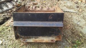 Mini Skid Steer Custom Tooth Bucket Fits Toro Dingo Ramrod Boxer Etc