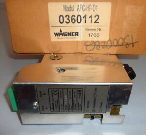 Wagner Afc hp d1 Air Flow Control Afchpd1 Module 0360112 Powder Coating New