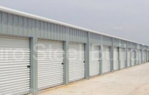 Duro Steel Self Storage 30x100x8 5 Metal Building Kit Prefab Structures Direct