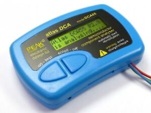 New Peak Dca55 Atlas Semiconductor Analyser From Japan