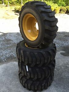 4 12 16 5 Galaxy Xd2010 Skid Steer Tires Wheels rims For Caterpillar 12x16 5