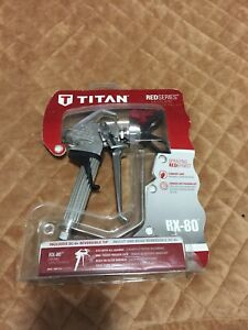 New Titan Rx 80 Airless Paint Sprayer Gun 0538007