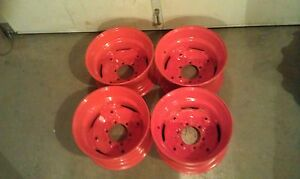 4 Wheels rims For Bobcat M444 M500 M600 M610 16 5x8 25x6 Fit 10 16 5 Tires