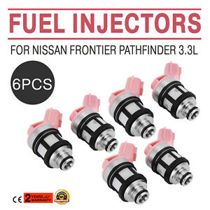Nice 6pcs Fuel Injectors For 96 04 Nissan Frontier Pathfinder Xterra 3 3l Best