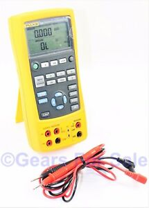 Fluke 724 Temperature Calibrator Meter Tester With Test Leads