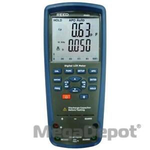 Reed R5001 nist Inductance capacitance resistance Meter With Nist Certificate