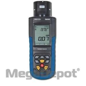 Reed R8008 Alpha Beta Gamma X rays Radiation Meter
