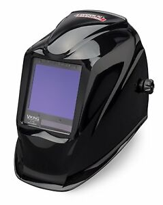Lincoln Electric Viking 3350 Black Auto darkening Welding Helmet With 4c Lens