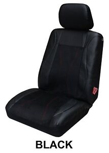 Single Leather Suede Look Seat Cover For Mazda 3