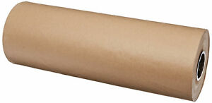 Brown Kraft Paper Roll Wrapping 24 Retro Packing Recycled Shipping Craft Sheet
