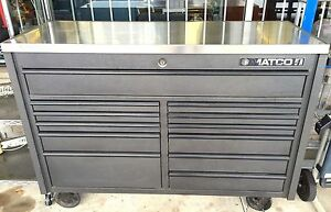Matco 4 Pro 22 Double Bay 12 Drawer Rolling Tool Cart Box W Steel Top Upgrade