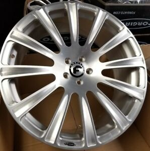 22 Forgiato Lavorato M Forged Wheels Mercedes S550 S63 Bentley Gt Audi A7 A8