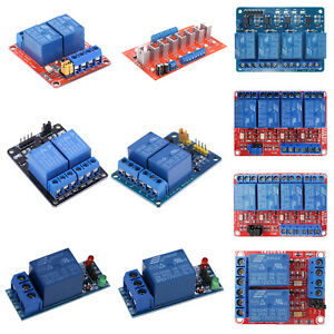 12v 1 2 4 8 Channel Relay Board Module optocoupler Led For Arduino Pic Arm Avr