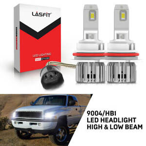 Lasfit 9004 Hb1 Led Headlight For Dodge Ram 1500 2500 3500 1994 2001 Hi Lo Beam