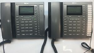 Rca Visys 25413re3 a 4 line Business Phone Lot Of 2 Two Phones