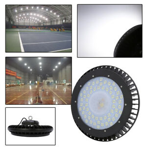 150w Cool White Ufo Led High Bay Light Warehouse Factory Lighting Fixture Ip44