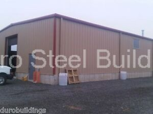 Durobeam Steel 30x62x15 Metal Garage Prefab Clear Span Building Workshop Direct