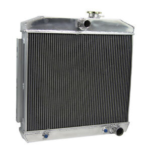 4row Aluminum Radiator For 1955 57 Chevrolet Nomad Bel Air 210 150 V8 Engine D5