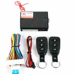 Auto Car Remote Control Central Kit Door Lock Locking Keyless Entry System