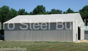 Durobeam Steel 28x30x12 Metal Building Garage Kit Man Cave as Seen On Tv Direct