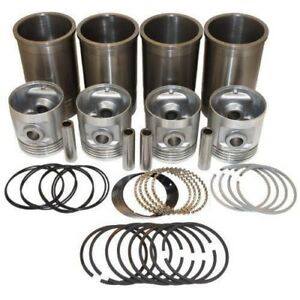 Pistons Sleeves And Rings Kit 3 7 16 Overbore Allis Chalmers B C Ca Ib Rc