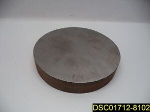Qty 5 Steel Round Plates 6 9 16 Od 1 3 16 Thick