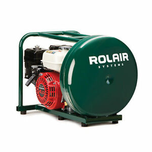 Rolair 4 5 Gallon 118cc 3 5 Hp Pancake Air Compressor Gd4000pv5h New