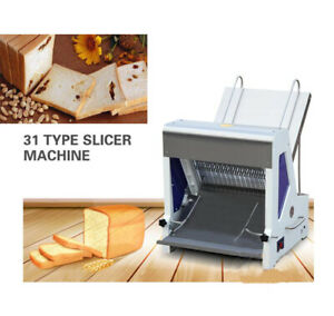 Commercial 110v Heavy Duty Automatic Electric Bread Slicer Machine 0 47