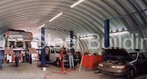 Durospan Steel 40x60x16 Metal Arch Buildings Prefab Structures Open Ends Direct