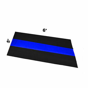 Man Cave Wall Sign The Thin Blue Line 5 X 6 Police First Responder