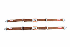 Dune Buggy Seat Belts New Pair 2 Latch Link Seat Belt 2 Point Racing Copper