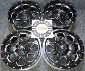 Sierra 1500 6 Lug Fuel Boost D534 Wheels Rims 20 20x9 6x139 7 6 Lg D53420909850